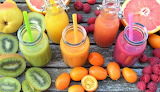Colourful Fruit Juice