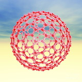 Fullerene-molecule-computer-artwork-laguna-design