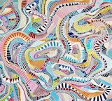cut paper mosaïc