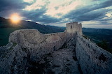 Castle van Monsegur-France