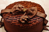 #Beautiful Chocolate Birthday Cake Wrapped in a Bow