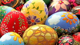 #Beautifully Decorated Easter Eggs