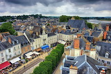 Amboise from above, France
