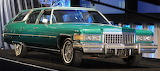 1976 Cadillac Fleetwood 60 Castilian Estate Green