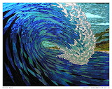 ^ Barrelling Wave Tunnel ~ amazing glass art of Graham Mace