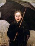 Marie Bashkirtseff, Le parapluie, 1883