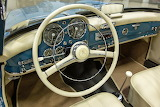 1962 Mercedes-Benz 190sl interior