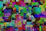 multi colored collage