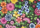 magical garden, Johanna Basford