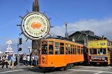Vintage Tram Fishermans Wharf San Francisco