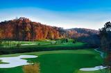 Fall golf scene at Achasta-Reynolds