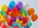 ☺♥ Colorful balloons...