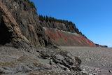 Cliffscape at Five Islands Provincial Park - credit John Calder