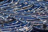 boats in Esaouira, Morocco