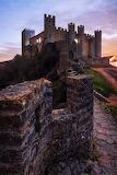 Castle. Obidos, Portugal