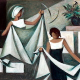 Hanging Clothes, Egyptian Artist Hussein Bicar