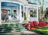 Classic front porch