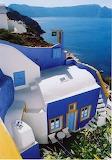 Blue & White Santorini