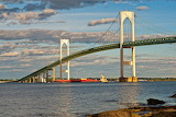 Newport River Bridge Newport Rhode Island USA