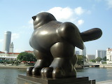 Fernando Botero, Bird (1990), Singapore