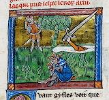 King Arthur, mediaeval illumination