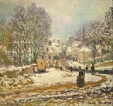 Main Street entering Argenteuil 1885 Monet