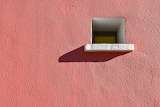 Window in Pink Wall