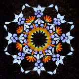 Flower Mandala, Kathy Klein