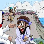 24. Jesús expulsa los demonios