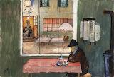 Marianne von Werefkin, Café in Saint-Prex 1915-1916