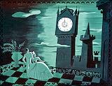 Midnight Clock Tower