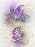 Opalescent abstract