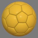 Yellow-soccer-ball
