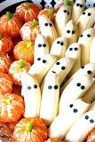 #Tangerine Pumpkins and Banana Ghosts