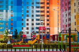 Moscow Colorful Buildings 1