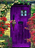 Enchanted Purple Door