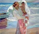 Joaquín Sorolla, Sorti de la mer, 1915