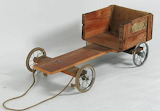 Museum Old Australian Billy Cart credit MAAS