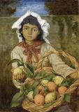 The Lemon Seller - Hans Thoma 1880