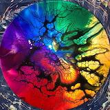 Rainbow Resin