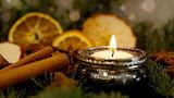 Advent, Kerze, Zimt