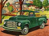 Trip to Town~ 1950 Studebaker