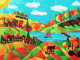 The patchwork village, Tiffany Budd