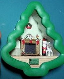 Tree Roombox with Christmas Items
