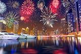 Dubai, Emirates, UAE, Fireworks