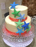 Starfish cake @ Layer Bakery