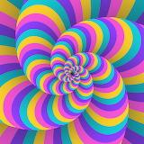 Pastel Circular Twist