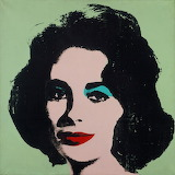 Warhol Liz Taylor