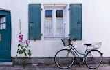 matching bike and shutters