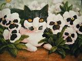 Flower Cat
